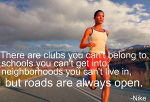 This is so true and one of the reasons I love running