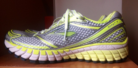 The ridges on the midsole remind me of feathers on wings.